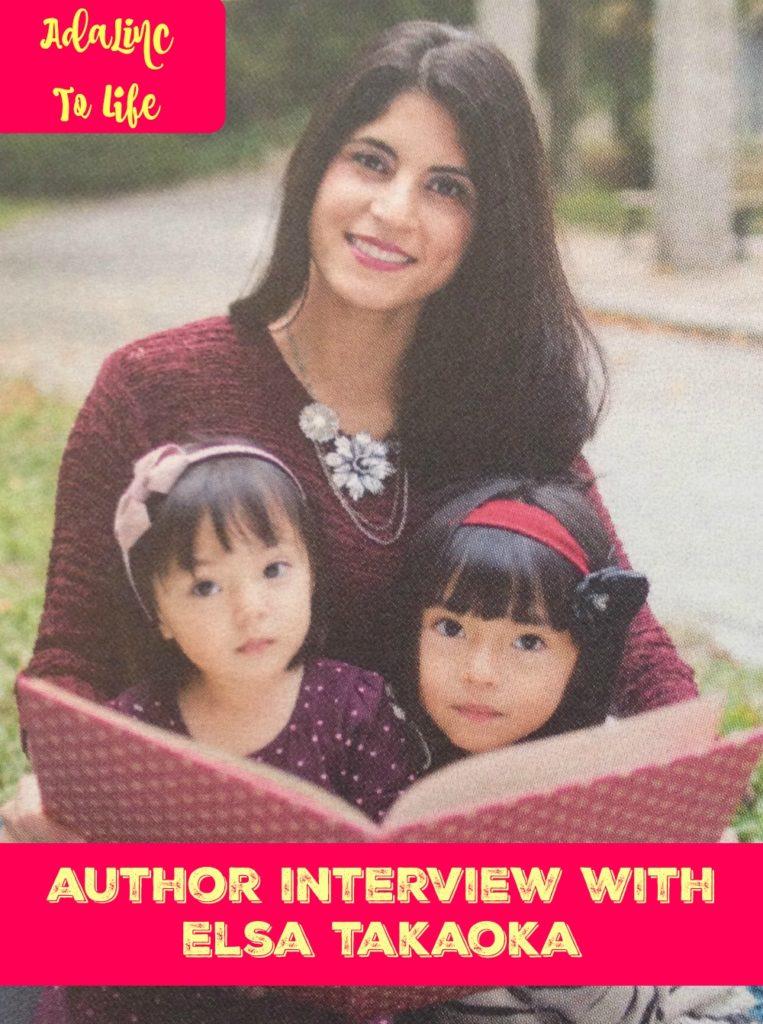 Author Interview with Elsa Takaoka
