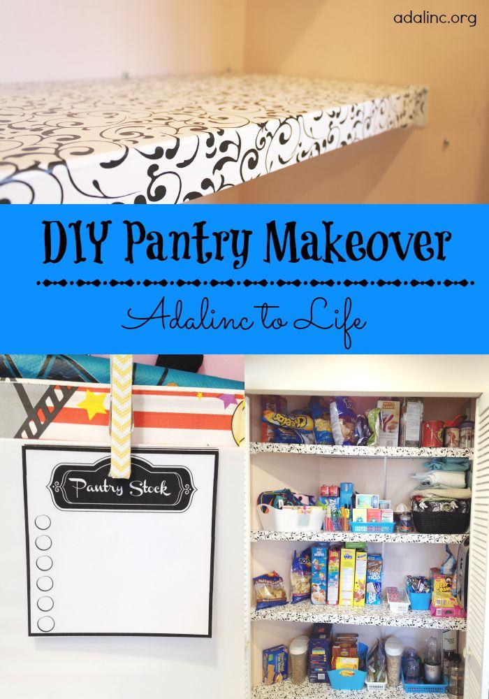 DIY Pantry Makeover