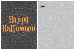 Halloween 3x4 Journal Cards