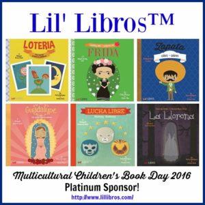 platinum sponsor for multicultural children's book day 2016