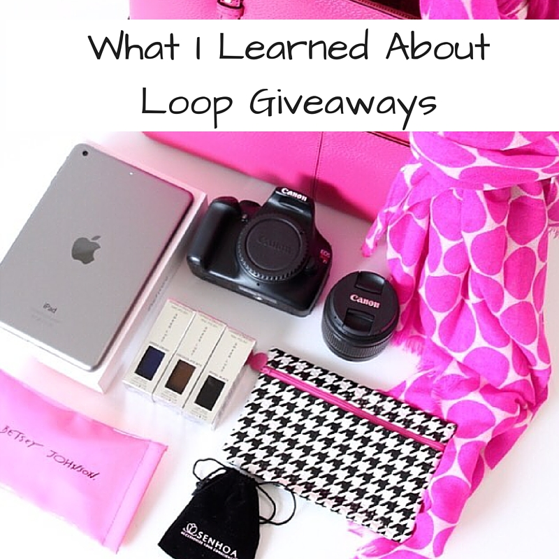 Loop Giveaways on Instagram: What I Learned