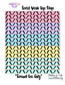 Pastel Washi Tape 3