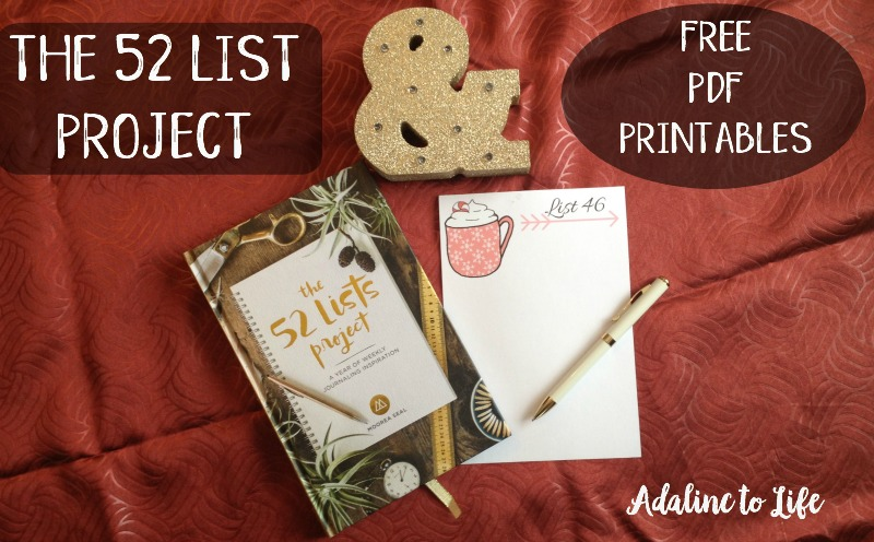 52 List Project: Comforts and Ideal Holiday Season