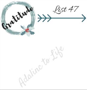 List 47 Printable