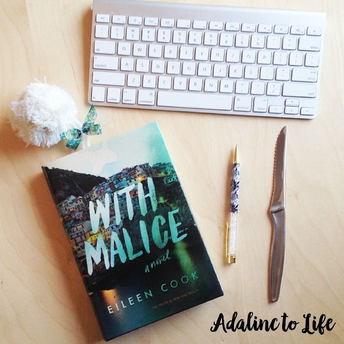 With Malice by Eileen Cook Young Adult book