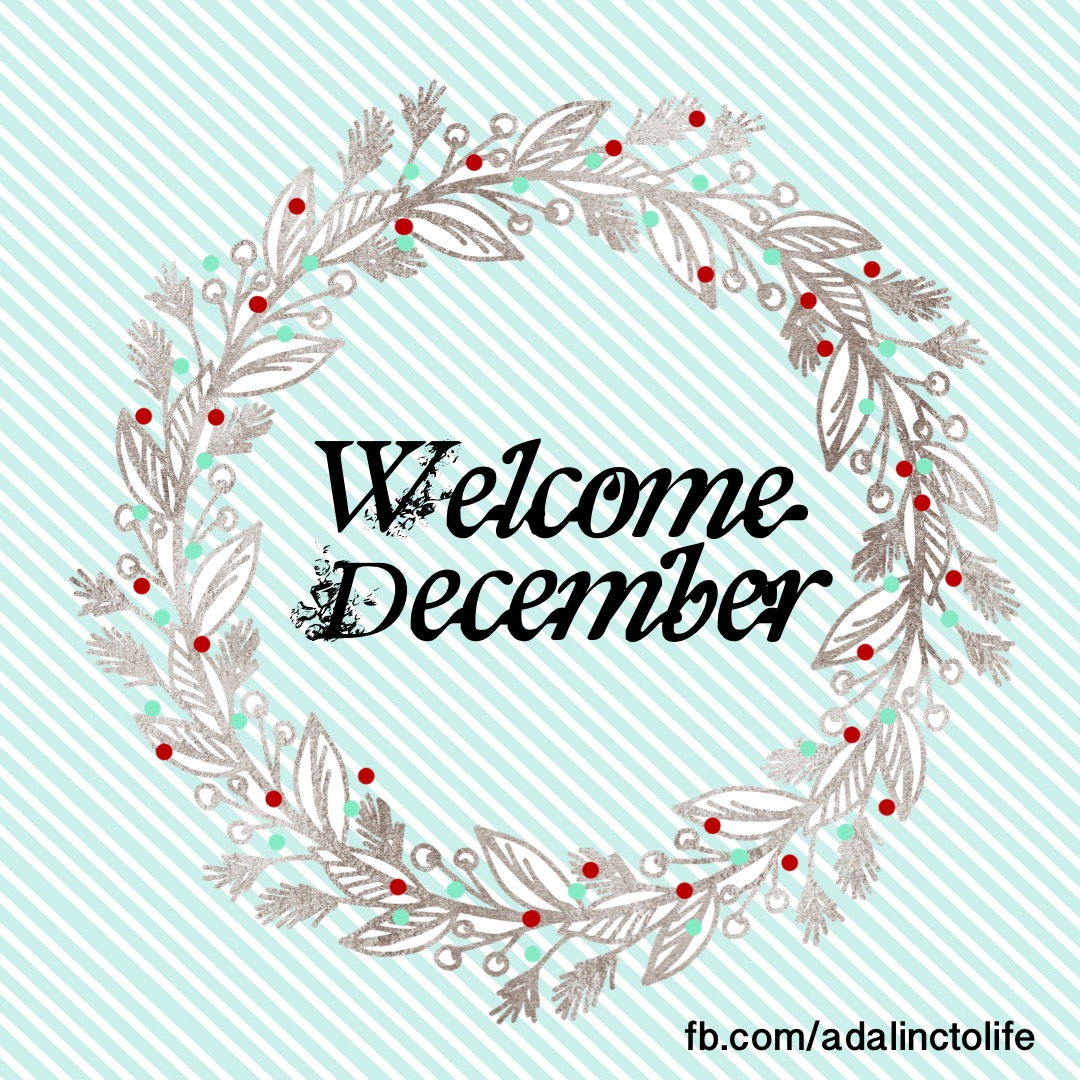 December Daily Journal and December Intention
